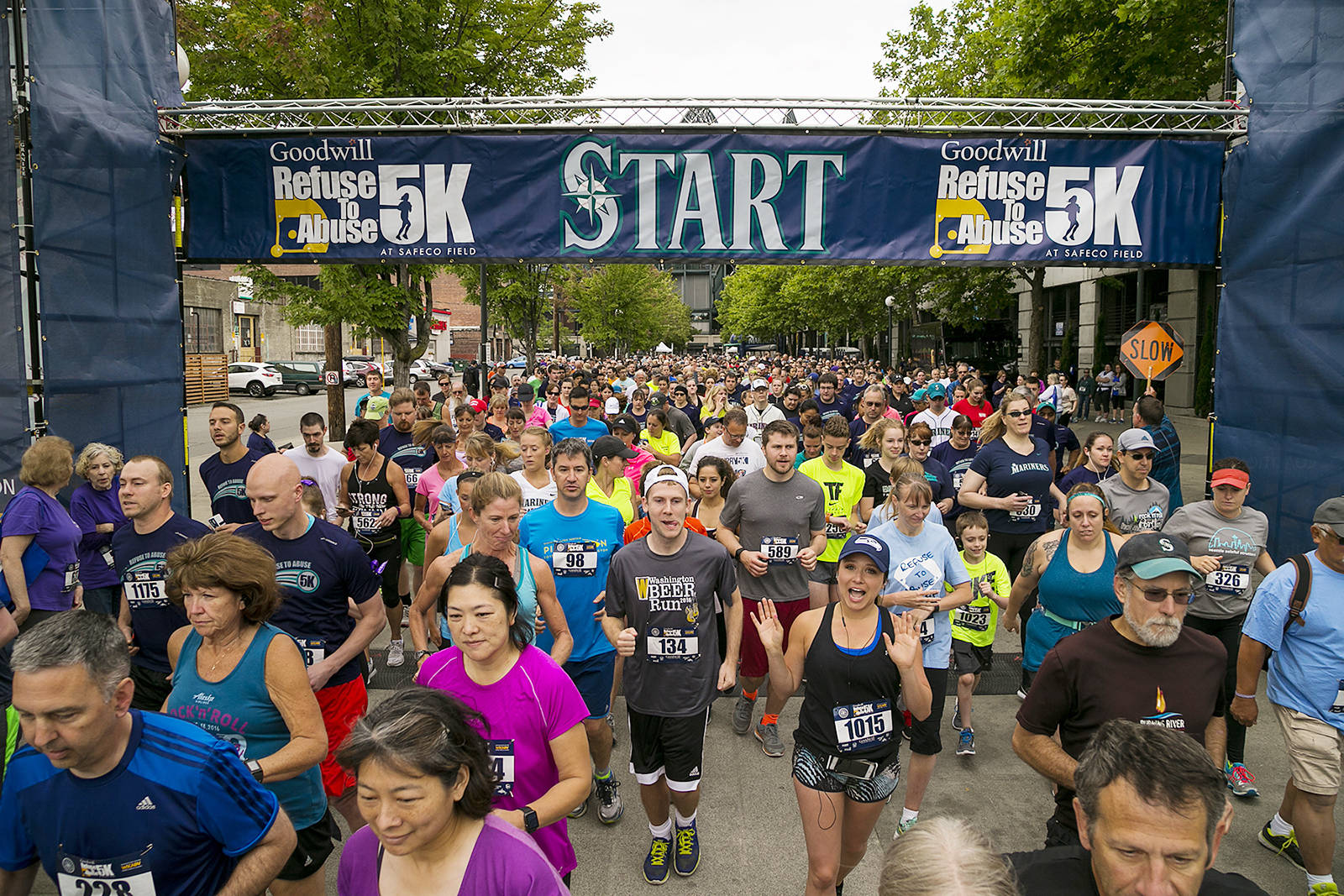 Join the July 21 Refuse To Abuse 5k, a joint event from the Seattle Mariners and the Washington State Coalition Against Domestic Violence.